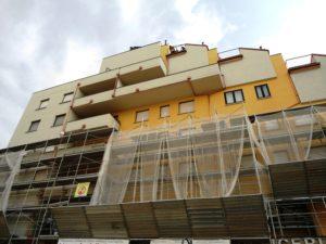 Tecnocem - ristrutturazione della facciata di un condominio a Bologna
