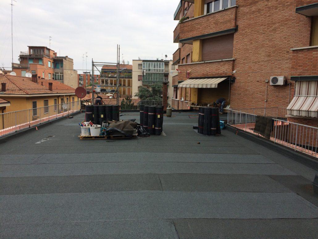 Impermeabilizzazione terrazzi e balconi a bologna - Impermeabilizzazione terrazzi esistenti ...