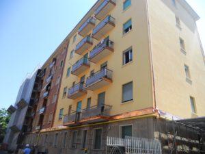 Tecnocem - Lavori di ristrutturazione in un condominio di Bologna
