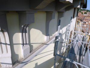 Tecnocem - Dettaglio del rifacimento della facciata condominiale