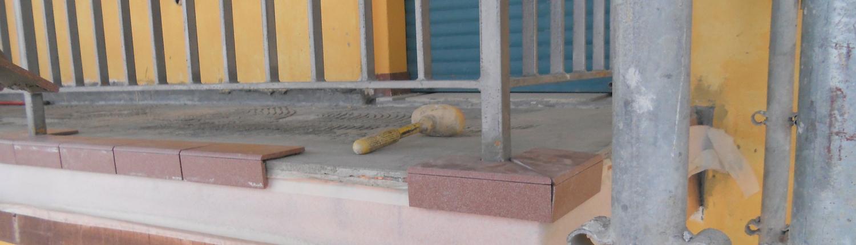 Facciata condominiale: rifacimento balconi e terrazzi
