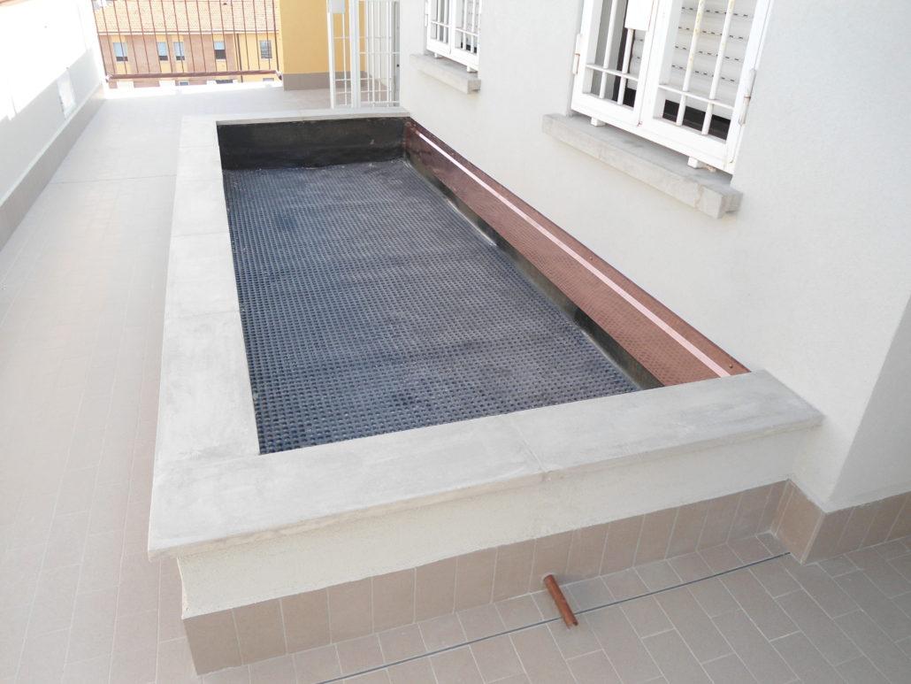 Impermeabilizzazione terrazzi e balconi a Bologna