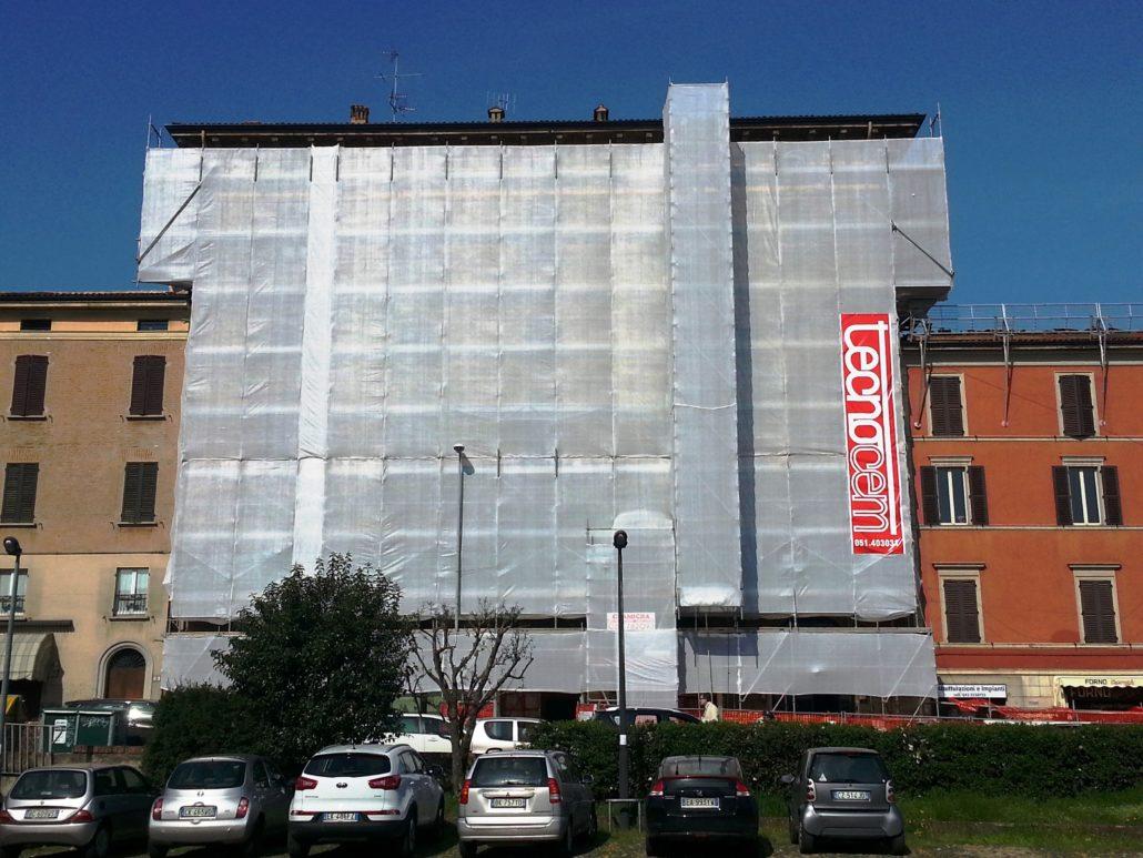 Tecnocem - Ristrutturazione facciata condominiale Bologna