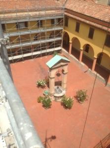 Restauro monastero Corpus Domini