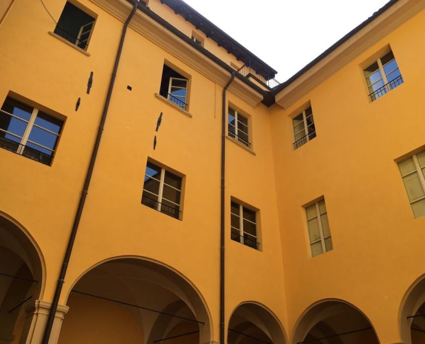 Restauro Palazzo Bocchi via Goito Bologna